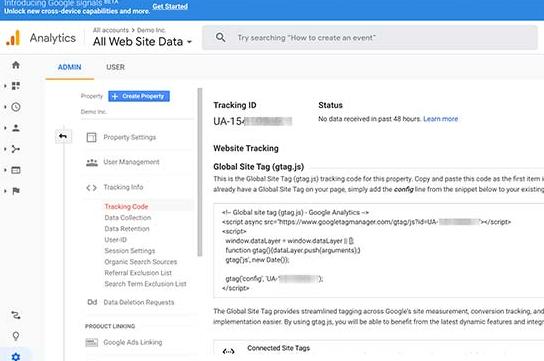 how to install google analytics in wordpress 06 - آموزش نصب گوگل آنالیتیکس - Google Analytics در وردپرس
