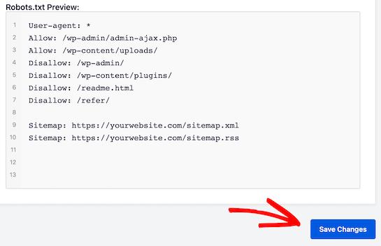 optimize wordpress robots txt for seo 05 - بهینه سازی فایل robots.txt برای بهبود سئو در وردپرس