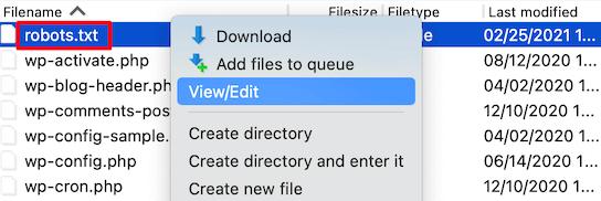 optimize wordpress robots txt for seo 06 - بهینه سازی فایل robots.txt برای بهبود سئو در وردپرس