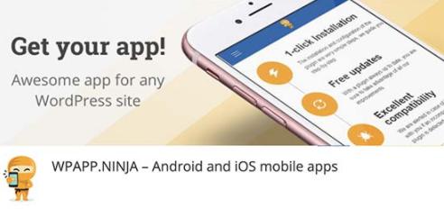 best plugins to convert wordpress site to mobile app 04 - بهترین افزونه برای تبدیل سایت به اپلیکیشن - ساخت برنامه برای سایت