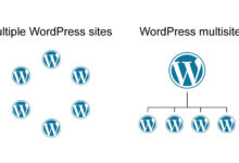 شبکه چند سایته در وردپرس