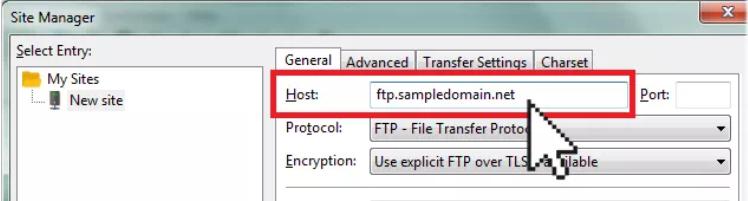 264545 - آپلود فایل با برنامه FileZilla