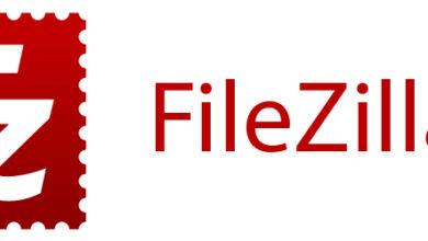 برنامه ی FileZilla